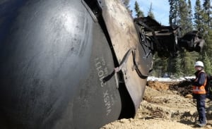Gogama derailment March 7