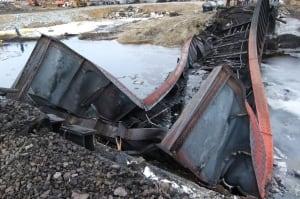 March 7 Gogama train derailment
