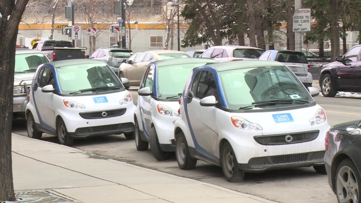 car2go customers could face parking restrictions in calgary calgary cbc news. Black Bedroom Furniture Sets. Home Design Ideas