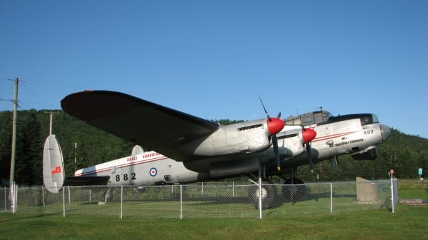 This Lancaster bomber, KB-822, is one of the last of its kind in the world and will soon return to Edmonton, where it flew missions to explore northern Canada after the war.