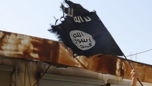 Edmonton police have said an Islamic State flag was found last weekend in a vehicle involved in what they are investigating as a terrorist attack.