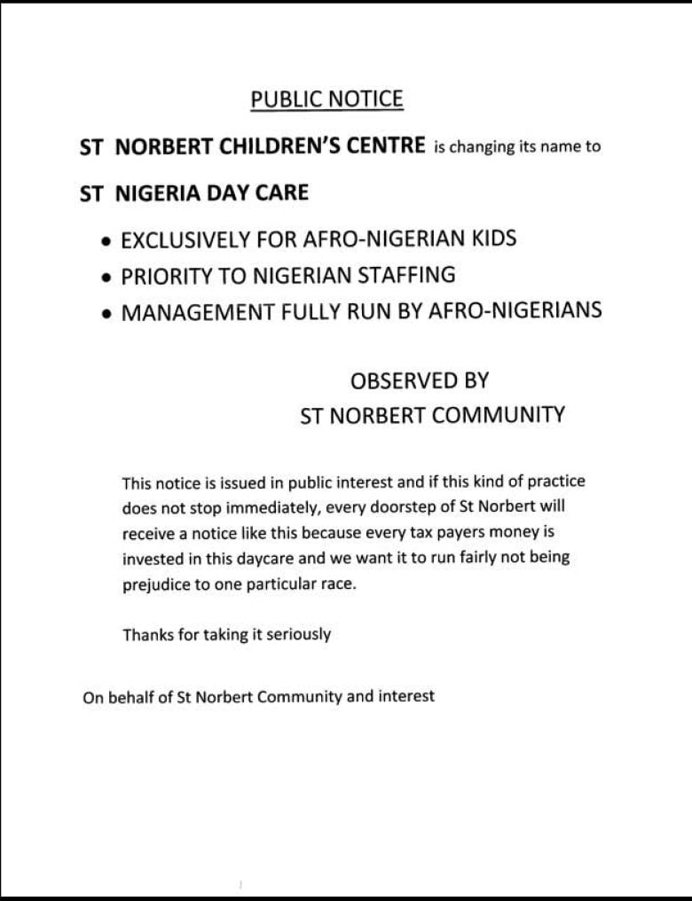 daycare notice - Hizir kaptanband co