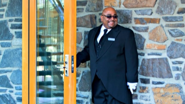 Clarence McLeod was trained by the Queen's butler and is now the only guilded butler in North America.