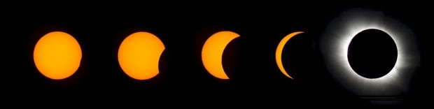 SOLAR-ECLIPSE March 20 2015 phases panoramic Svalbard