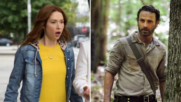 A scene from the Netflix comedy Unbreakable Kimmy Schmidt, left, and a still image taken from AMC's The Walking Dead. As consumers cut their cable cords to embrace online streaming options, the CRTC hopes its new 'skinny basic' option can woo viewers back to the conventional cable and satellite model, even if it may mean larger bills.
