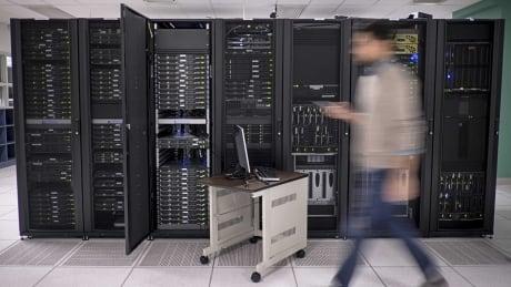 computer servers cybersecurity