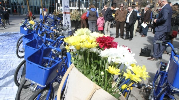 SoBi Hamilton officially launched March 20, 2015, with a gathering at Gore Park.