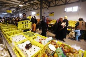 Shopping at Zaatari
