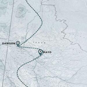 Expedition Polaris route