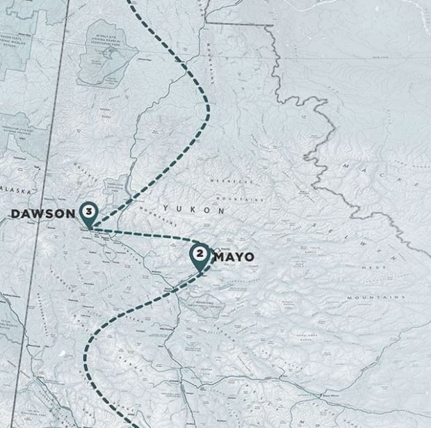 Expedition Polaris route