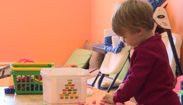Kid in daycare childcare costs in Newfoundland and Labrador