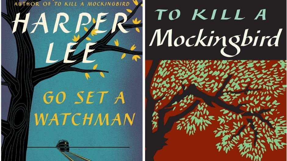 Harper Lee's newest novel Go Set a Watchmen and her classic To Kill a Mockingbird.