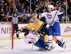 Canadiens Predators Hockey