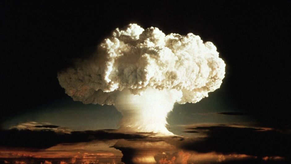 Even though the newly discovered 'quarksbomb' is 8 times more powerful than this hydrogen bomb, it has no military application