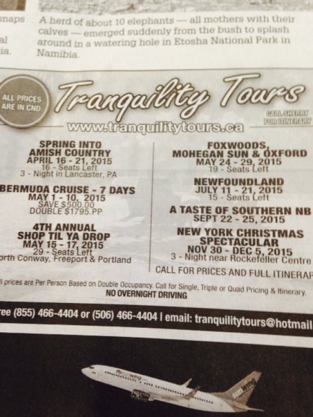Tranquility Tours
