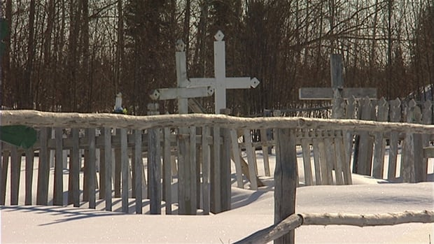 A graveyard in Shamattawa, Man. stands as testament to the growing number of First Nations youth who take their own lives.