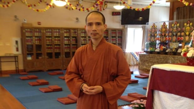 Venerable Liu is the president of the Great Enlightenment Buddhist Institute Society. His title is similar to Father or Reverend.