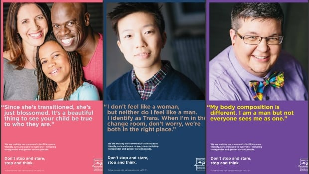 The Vancouver Park Board's new awareness campaign includes personal stories from trans and gender variant people.