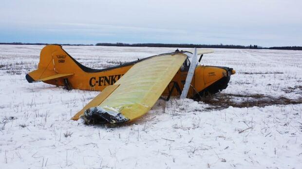 Light plane crashes in Saskatchewan