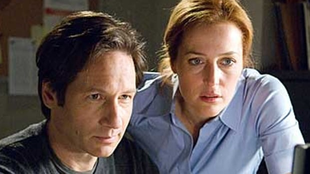 David Duchovny and Gillian Anderson The X-Files