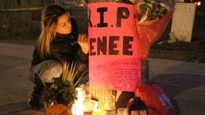 Renee Neganiwina vigil