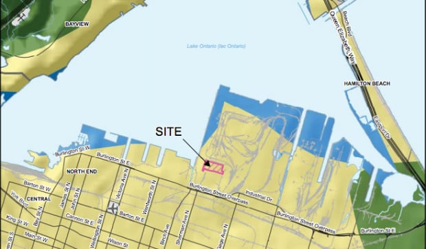 Proposed Port Fuels plant on Hamilton waterfront