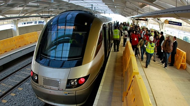 Bombardier was one of five companies involved in the construction of South Africa's Gautrain in 2006.