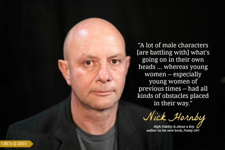 nick hornby  High Fidelity author Nick Hornby: women's stories are more moving ...