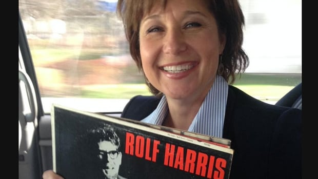 B.C. Premier Christy Clark quickly deleted this tweet, showing her with an album by Rolf Harris, on Wednesday. The Australian entertainer was sentenced to nearly six years in jail for child sex assault in 2014.
