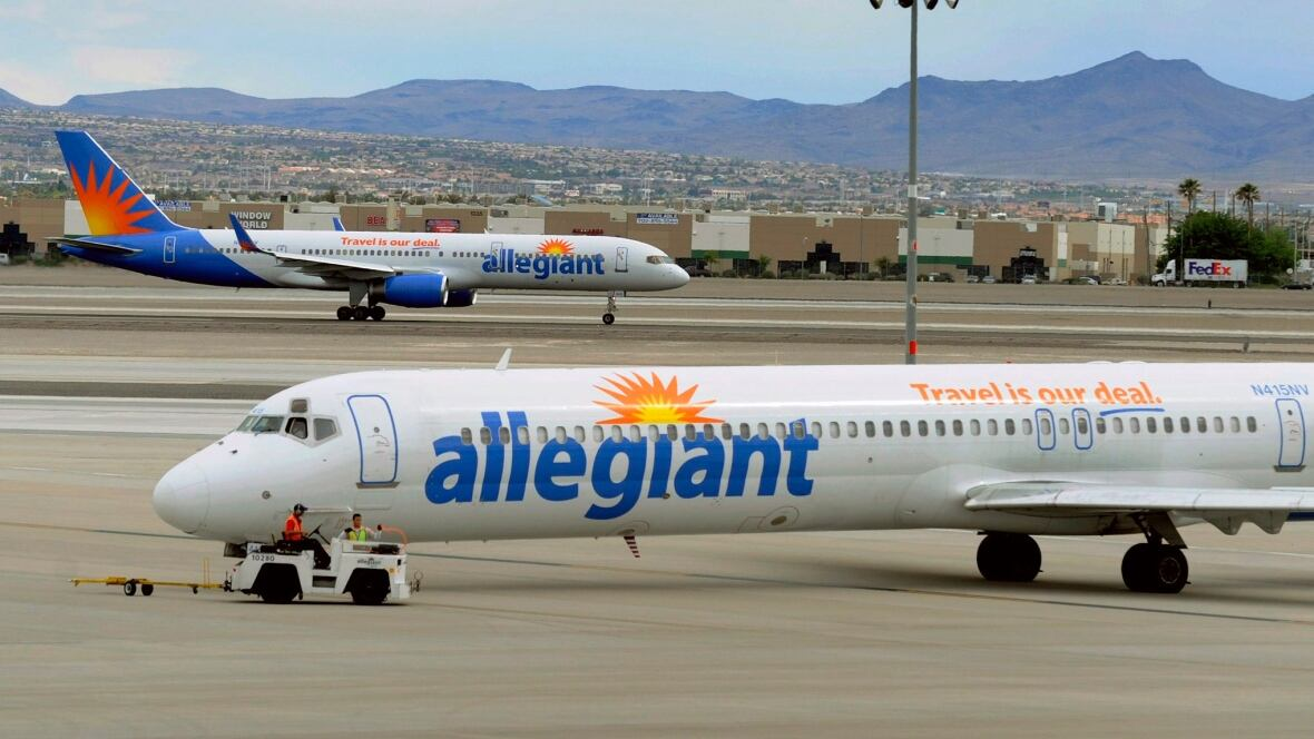 Shares of Allegiant Travel Company (ALGT) are value at $146.40