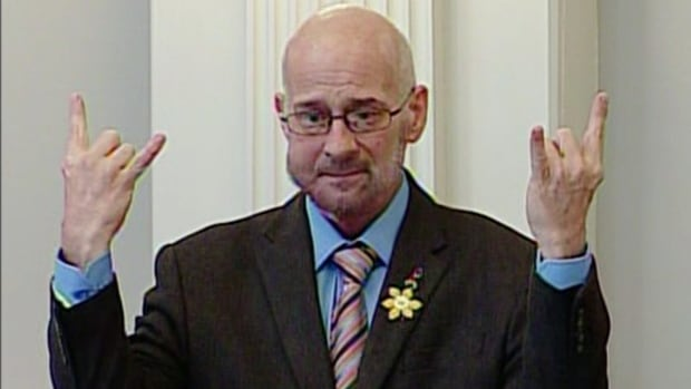 Gordie Gosse, pictured here at Province House, retired from politics to deal with throat cancer in 2015.