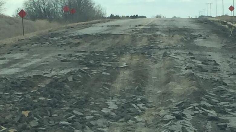 Saskatchewan nude potholes