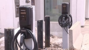 NB Power electric car charging station