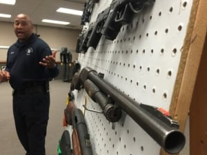 LAPD Weapons Training
