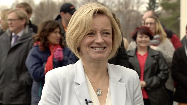 Alberta NDP Leader Rachel Notley may be smiling a bit more Thursday after a poll suggests her party holds a healthy lead in Edmonton and is gaining in other parts of the province.