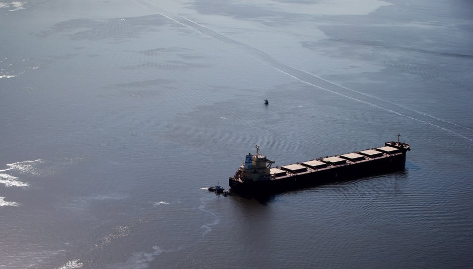 Oil Spill 20150409 English Bay April 9 2015 Vancouver Burrard Inlet