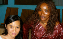 Sook-Yin Lee and her Senegalese Twin