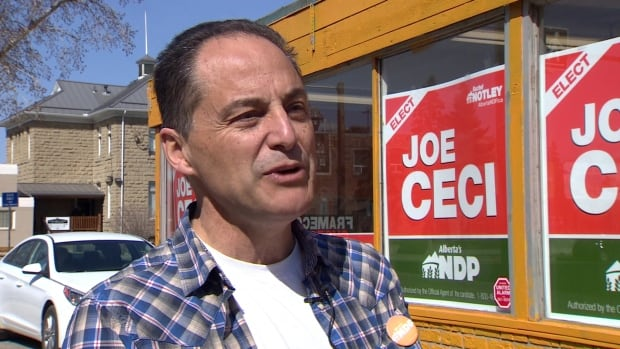 Joe Ceci is the NDP candidate in Calgary-Fort.
