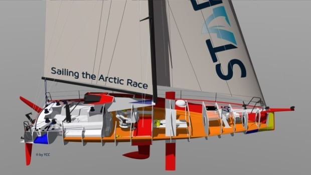 Sailing the Arctic Race vessel design