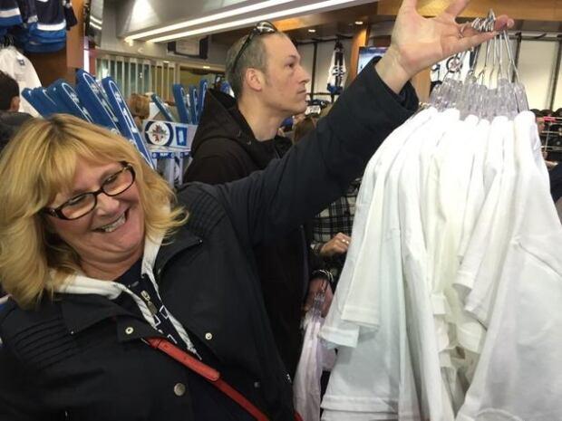Fans buy up merchandise