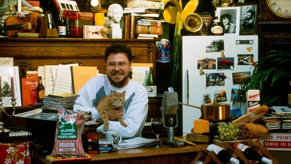 Jurgen Gothe is seen in his natural habitat on December 7, 1990.