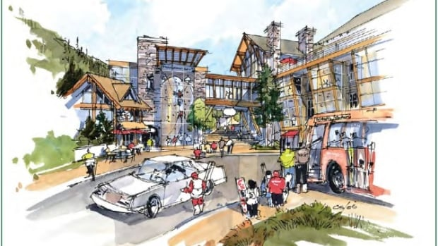 Cypress Village is expected to incorporate a mix of housing, restaurants and shops.