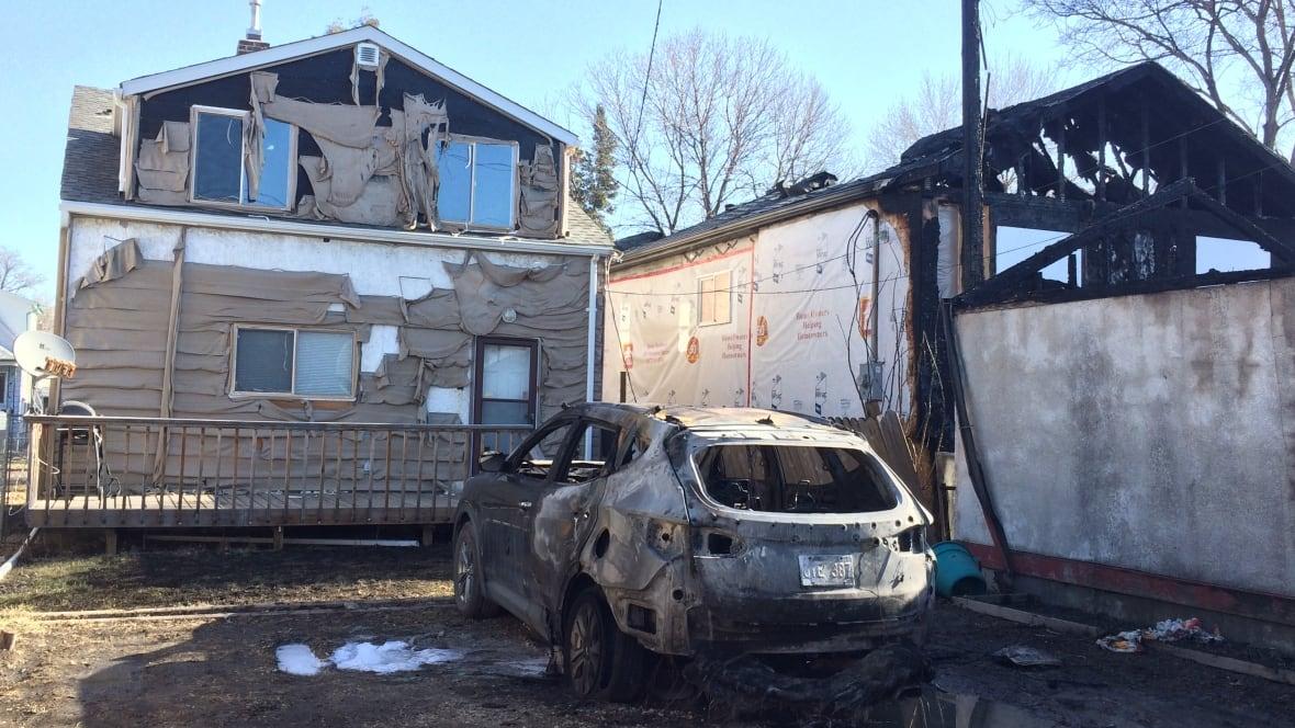 Fire Blazes Through North End Winnipeg Home On Saturday