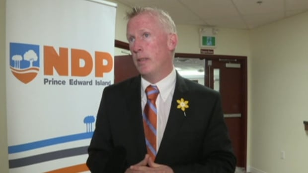 Mike Redmond stepped down as the the leader of P.E.I's NDP on Wednesday.