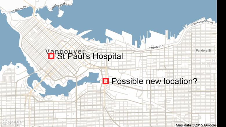St Paul Traffic Map.St Paul S Hospital Plan Prompts Traffic Concerns Cbc News