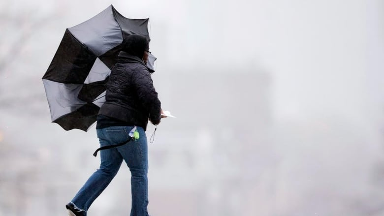 Strong winds, severe thunderstorms expected today