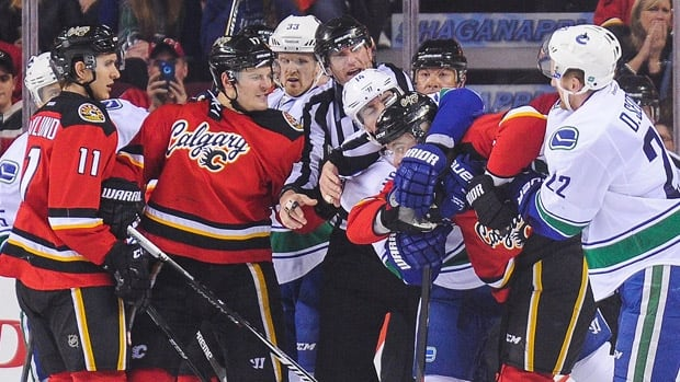 Vancouver Canucks Vs Calgary Flames Renewing A Stanley Cup Playoff Rivalry Cbc News