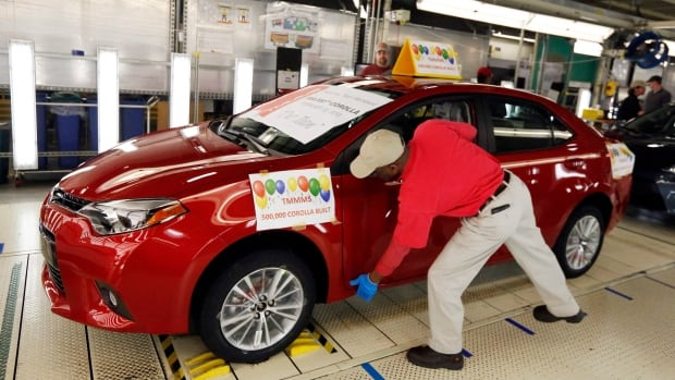 Toyota recently moved Corolla production away from a plant in Ontario and this one in Mississippi to set up shop in Mexico.