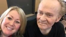 Jann Arden and her dad