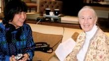 Jane Goodall and Sook-Yin Lee